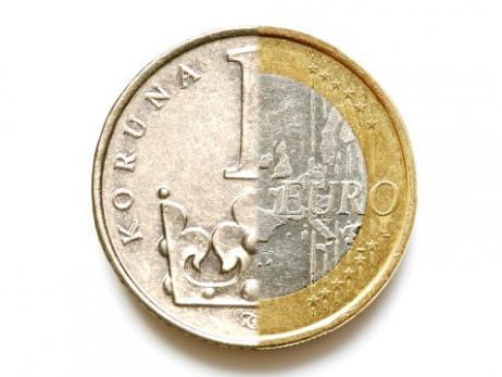 koruna euro