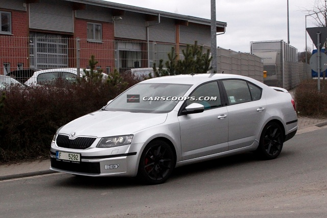 spy photo octavia iii rs