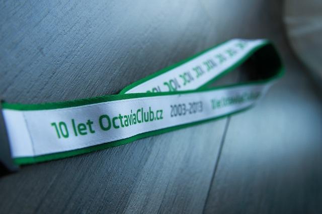 klicenky octavia club 10 let
