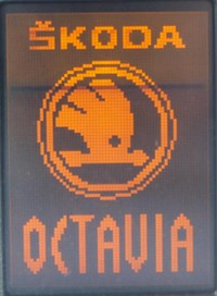 displej Maxi-K pro Octavii 1