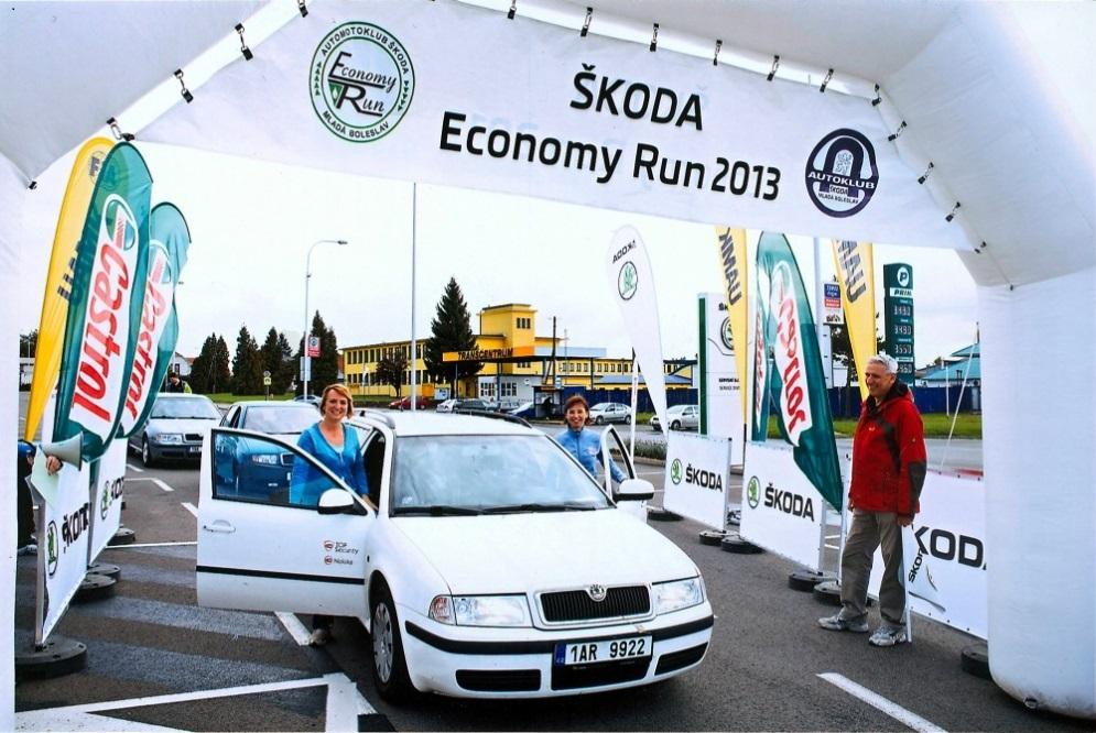skoda economy run 2013