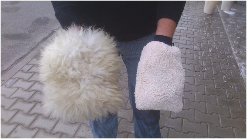 detailing rukavice