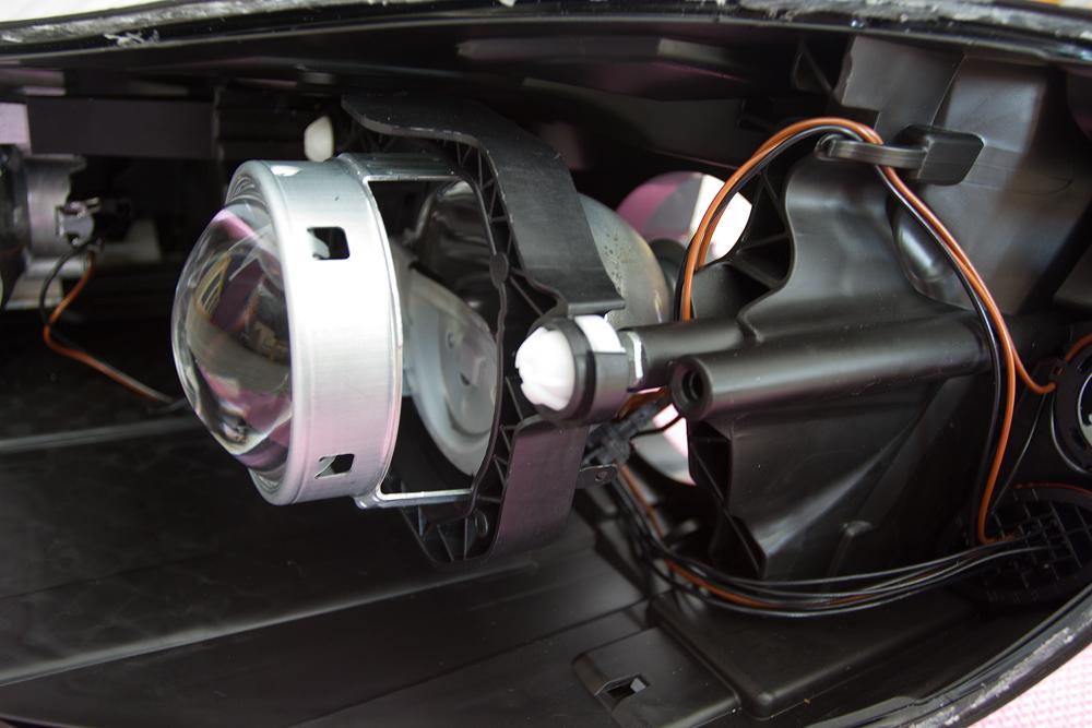 navod svetla octavia II facelift