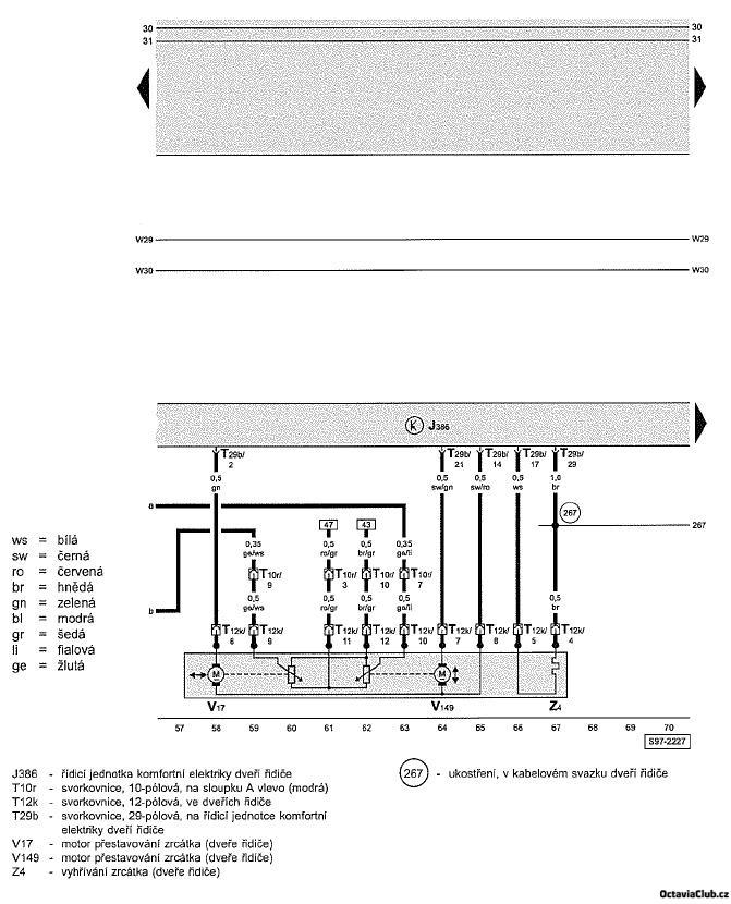 schema zapojeni octavia 1