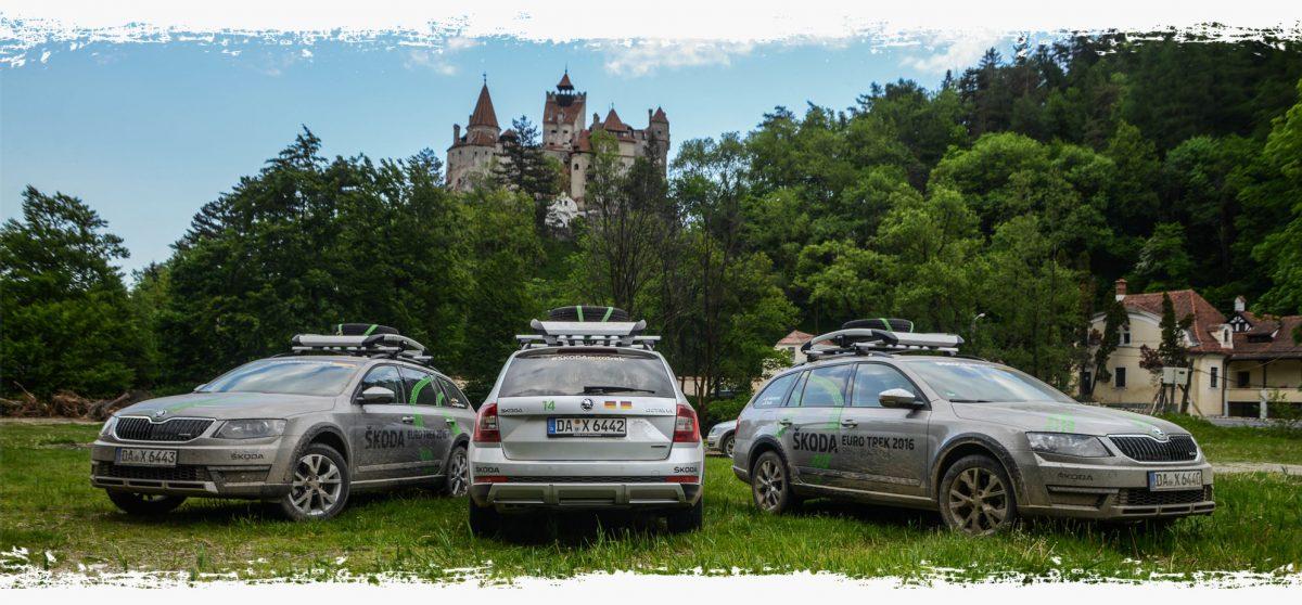 skoda trek 2016 - rumunsko - octavia scout