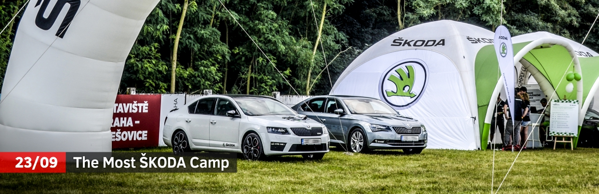 most skoda camp 2017