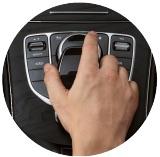 Tlačítkové ovládání CarPlay
