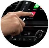 Dotykové ovládání CarPlay