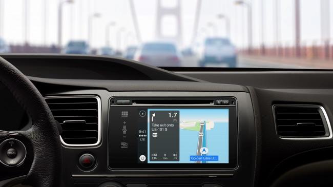 Navigace CarPlay