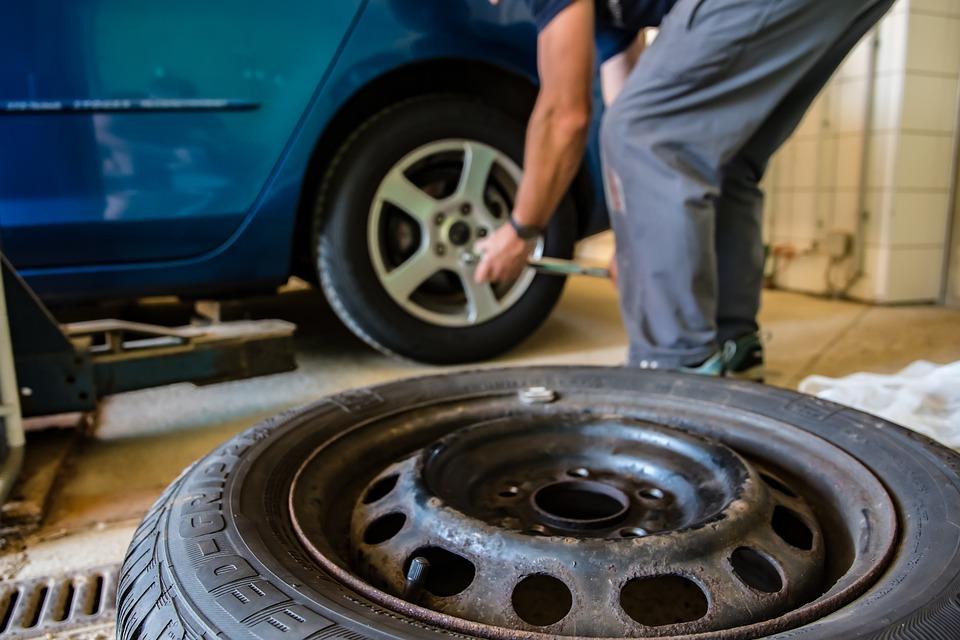 přezouvání zimních pneumatik