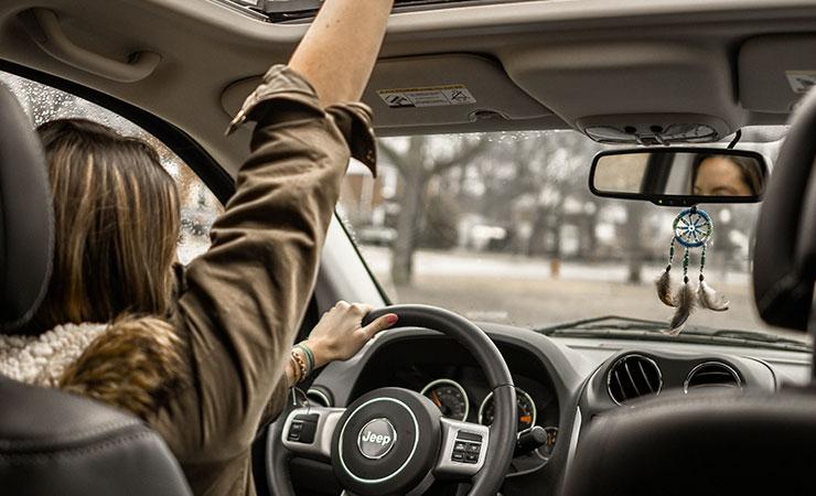 pohoda za volantem