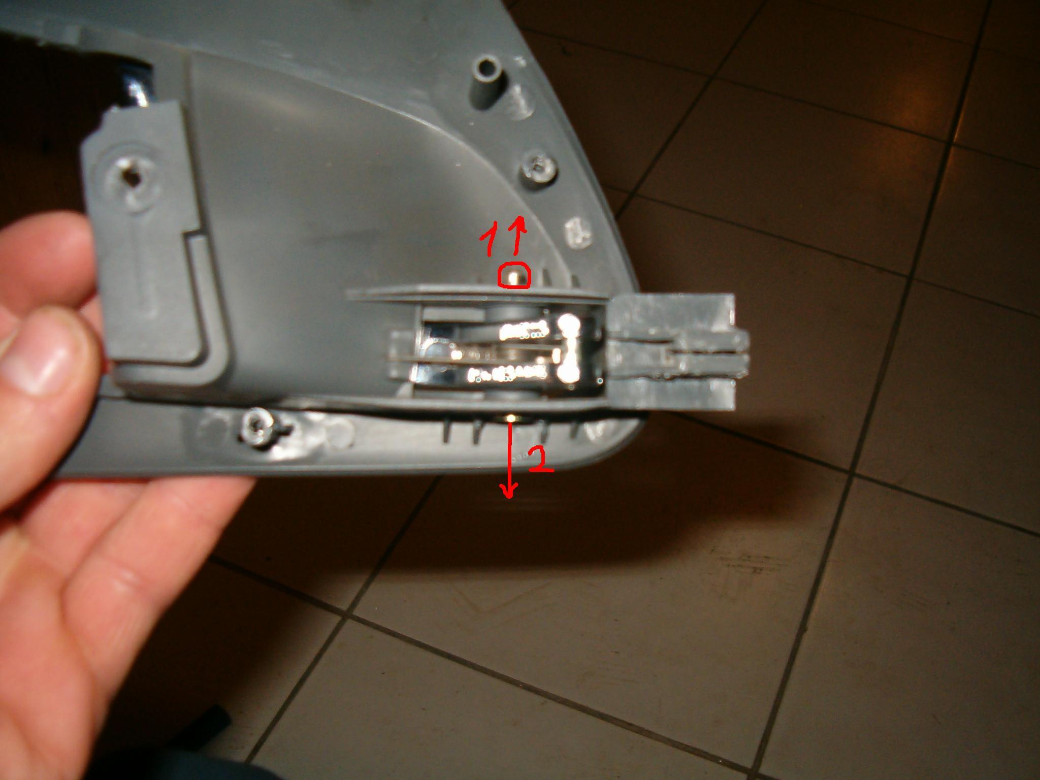 Oprava kliky u dveří