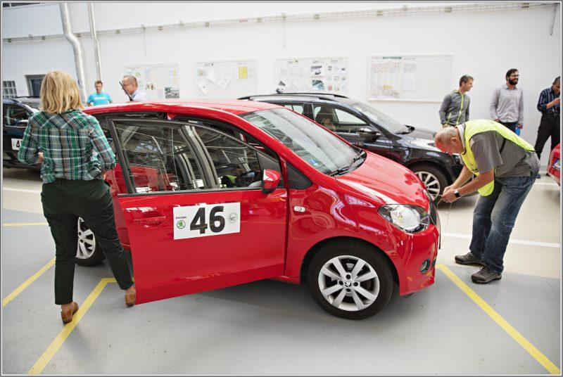 Závodní vůz Economy Run Škoda Citigo