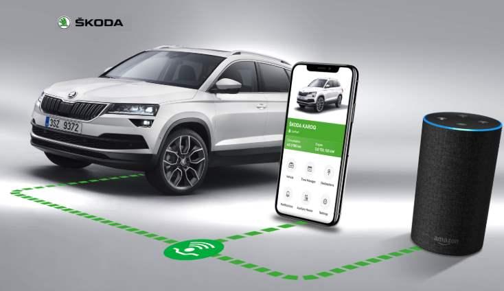 Škoda Connect přihlášení registrace a cena aplikace