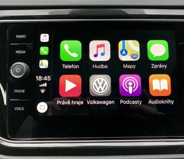 Apple CarPlay ios v autě nejen Octavia