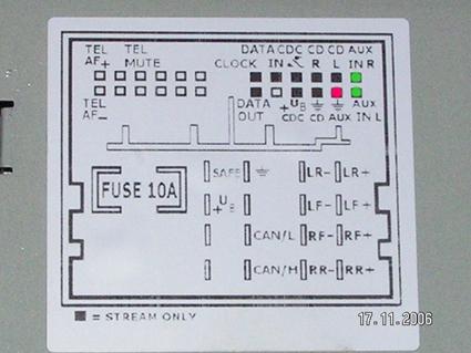 Schéma konektoru