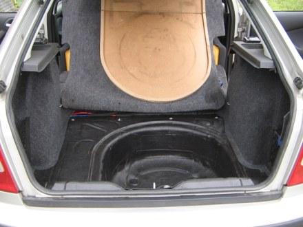 Tlumení kufru vibraflexem Škoda Octavia 5