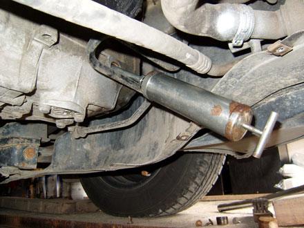 Výměna převodového oleje Škoda Octavia 2
