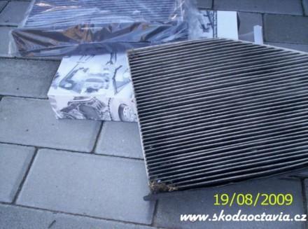 Výměna pylového filtru Škoda Octavia 6
