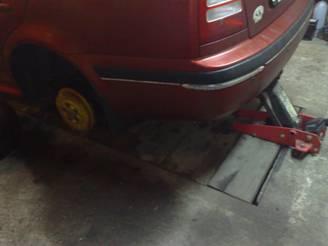 Výmněa brzdových válečků Škoda Octavia návod 9