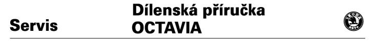 Dílenská příručka Octavia I