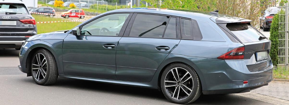 Nová Škoda Octavia IV 4