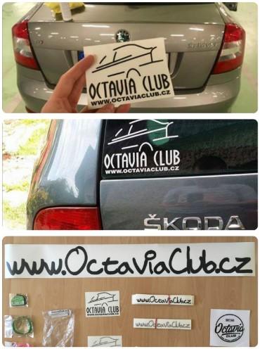 Samolepky OctaviaClub