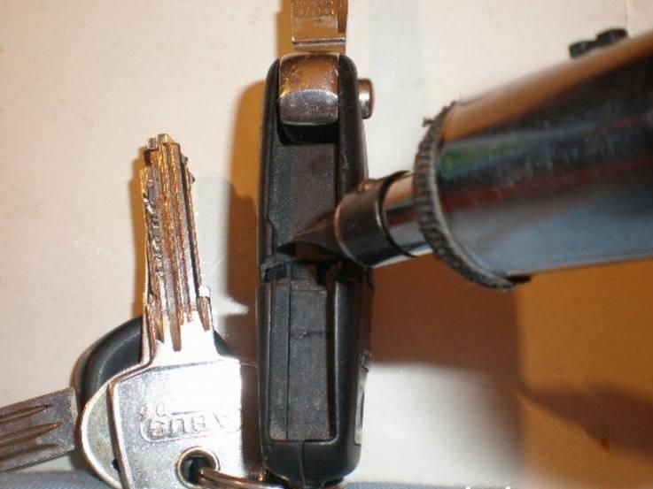 Klíč před rozebráním Octavia výměna baterie