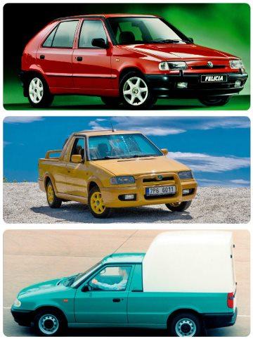 Škoda Felicia Van, Fun a klasický hatchback