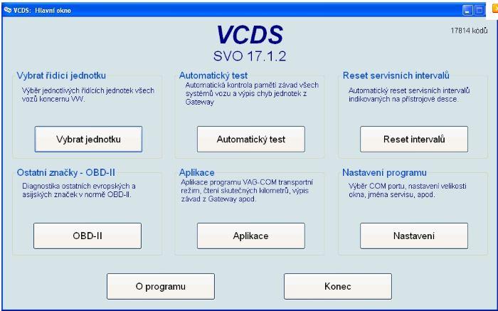 Autodiagnostika VAG VCDS