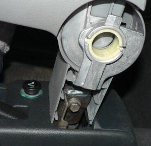 Nasazení loketní opěrky nové na Octavia 1 Škoda