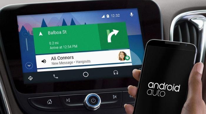 Navigace Android auto aplikace