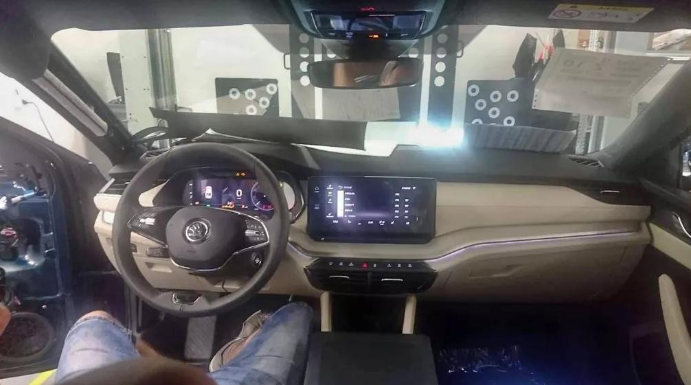 Interiér Škoda Octavia IV