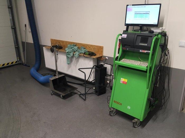 Počítač na měření emisí