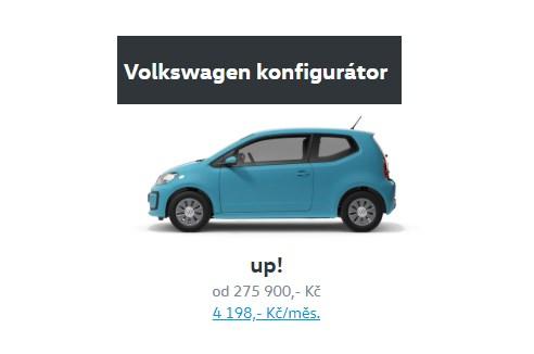 Konfigurátor VW Volkswagen
