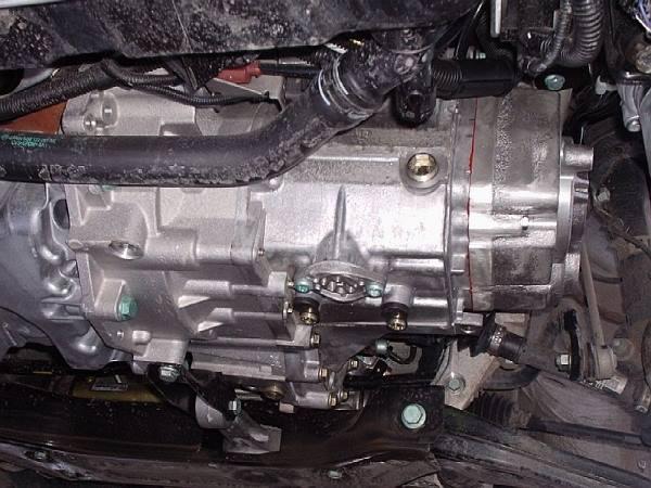 Motor a řazení ve voze