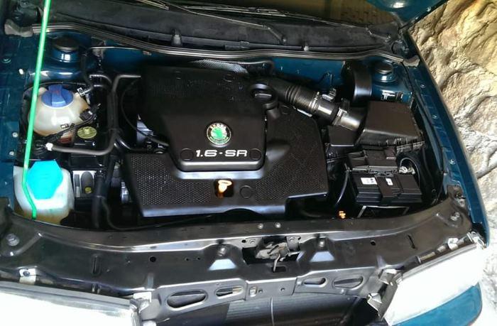 Motor Škoda Octavia 1