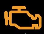Kontrolka závada řídící jednotky motoru