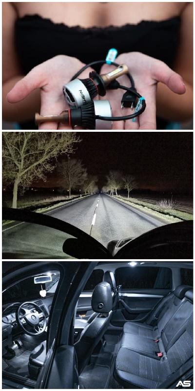 LED žárovky do auta homologace 2