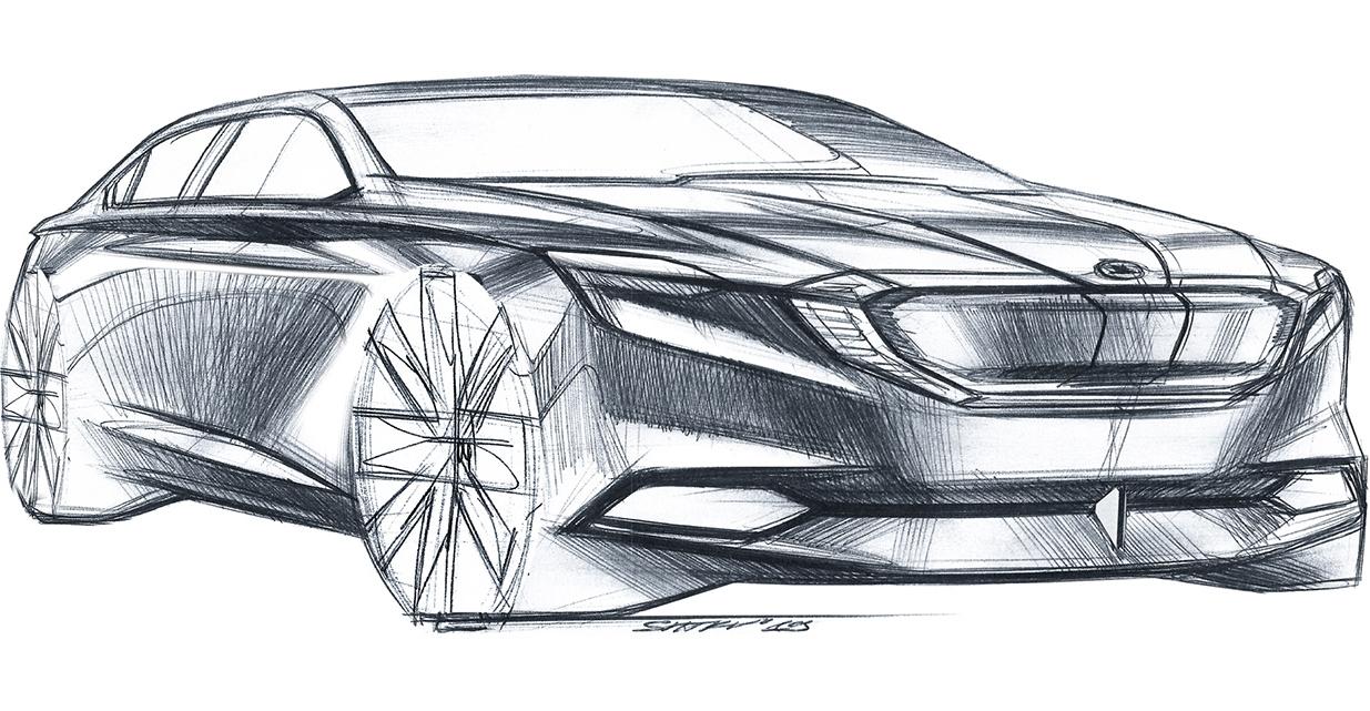 Skica na Škoda Octavia 4
