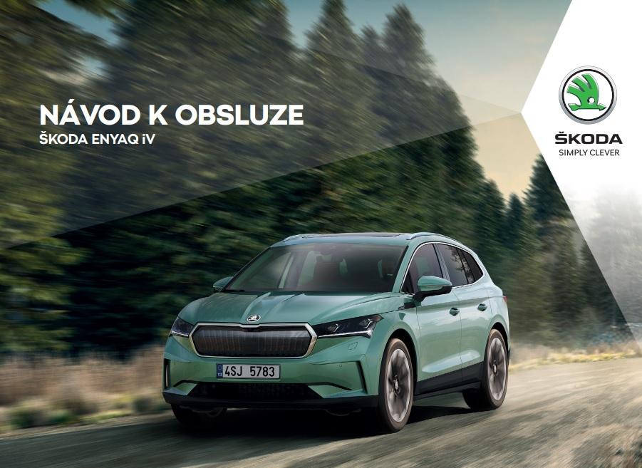Návod k obsluze Škoda Enyaq