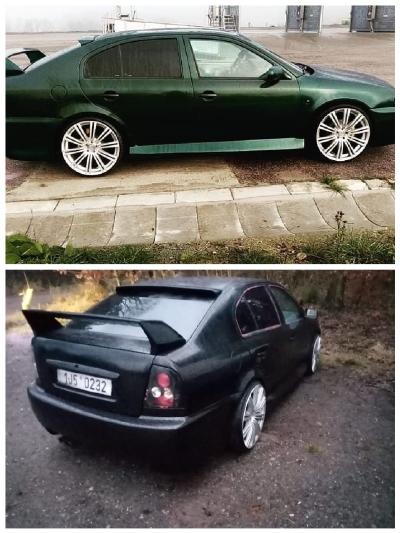 Škoda Octavia 1 8 T tmavě zelená