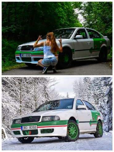 Škoda Octavia I vzhled WRC