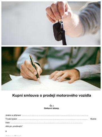 Přepis motocyklu na nového majitele